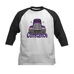 Trucker Constance Kids Baseball Jersey