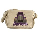 Trucker Darlene Messenger Bag