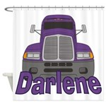 Trucker Darlene Shower Curtain