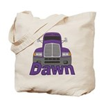 Trucker Dawn Tote Bag