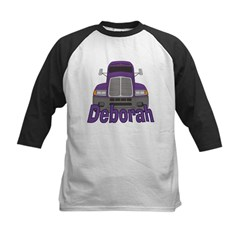 Trucker Deborah Kids Baseball Jersey