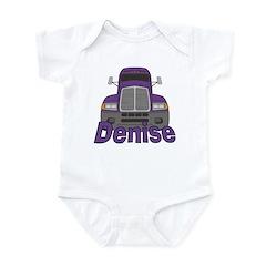 Trucker Denise Infant Bodysuit