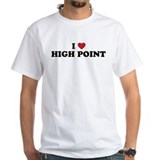 I Love High Point North Carolina Shirt