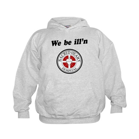 Sacred Heart Illn Kids Hoodie