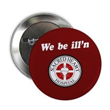 "Sacred Heart Illn 2.25"" Button"