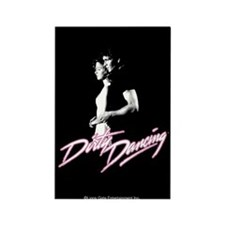 Dirty Dancing Johnny and Baby Rectangle Magnet