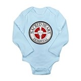 Sacred Heart Hospital Long Sleeve Infant Bodysuit
