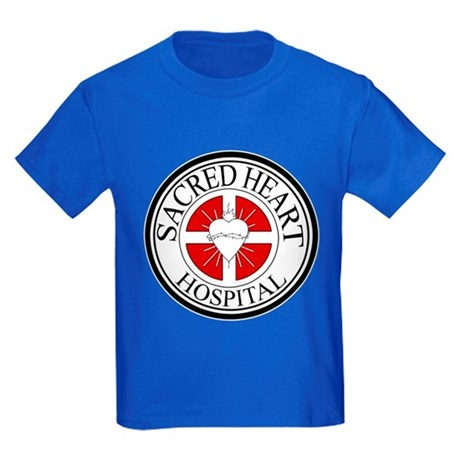 Sacred Heart Hospital Kids Dark T-Shirt