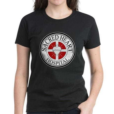 Sacred Heart Hospital Womens Dark T-Shirt
