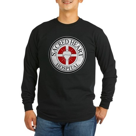 Sacred Heart Hospital Long Sleeve Dark T-Shirt