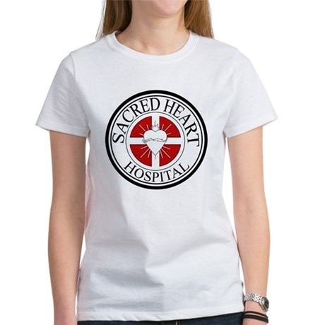 Sacred Heart Hospital Womens T-Shirt