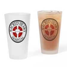 Sacred Heart Hospital Drinking Glass