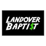 Landover $ Rectangle Sticker