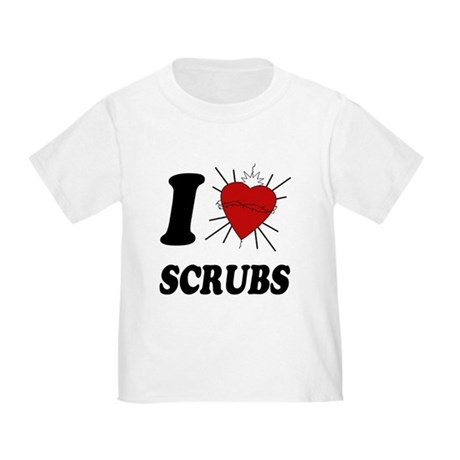 I Sacred Heart Scrubs Toddler T-Shirt