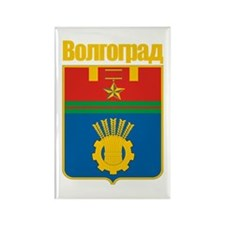 Volgograd COA Rectangle Magnet