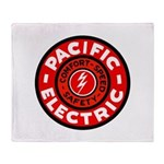Pacific Electric Throw Blanket