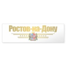 Rostov-on-Don Flag Bumper Sticker