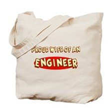 Proud Wife of an Engineer Tote Bag