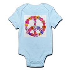 FloralPeace.png Infant Bodysuit