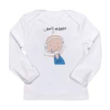 FutureWrestlerBoy.png Long Sleeve Infant T-Shirt