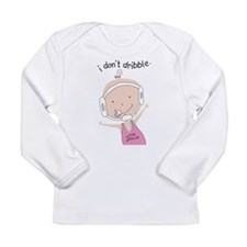 FutureWrestlerGirl.png Long Sleeve Infant T-Shirt