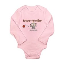 FutureWrestler.png Long Sleeve Infant Bodysuit