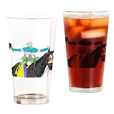 Cute Horse zenyatta Drinking Glass