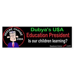 Education Bumper Sticker