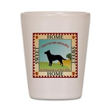 Australian Cattle Dog Shot Glass