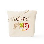 Bull-Pei Dog Mom Tote Bag