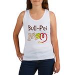 Bull-Pei Dog Mom Women's Tank Top