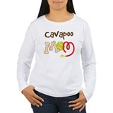 Cavapoo Dog Mom  T-Shirt