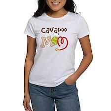 Cavapoo Dog Mom Tee