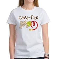 Cava-Tzu Dog Mom Tee