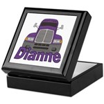 Trucker Dianne Keepsake Box