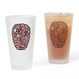 Hemispheres Drinking Glass