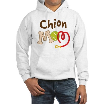 Chion Dog Mom Hooded Sweatshirt