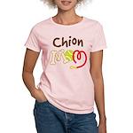 Chion Dog Mom Women's Light T-Shirt