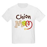 Chion Dog Mom Kids Light T-Shirt