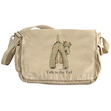 Wire Fox Terrier Tail WFT Messenger Bag