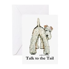 Wire Fox Terrier Tail WFT Greeting Cards (Pk of 10