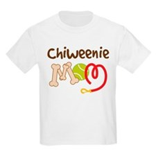 Chiweenie Dog Mom T-Shirt