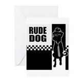 Rude Dog Greeting Cards (Pk of 10)
