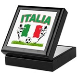 Italian World Cup Soccer Keepsake Box