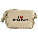 I Love Hialeah Florida Messenger Bag