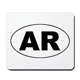 Arkansas (AR) Mousepad