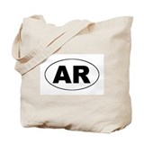 Arkansas (AR) Tote Bag