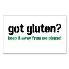 Got Gluten Decal