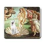 Venus-White German Shep Mousepad