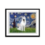 Starry / G-Shep Framed Panel Print